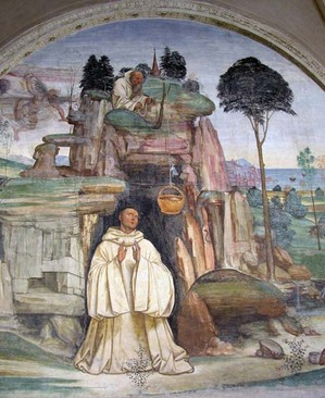 St Benedict in the Sacro Speco, Sodoma.jpg