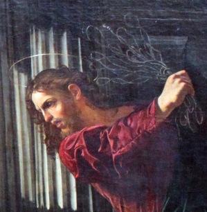 detail Cecco_del_Caravaggio_Christ_expulses_money_changers_anagoria-1.JPG