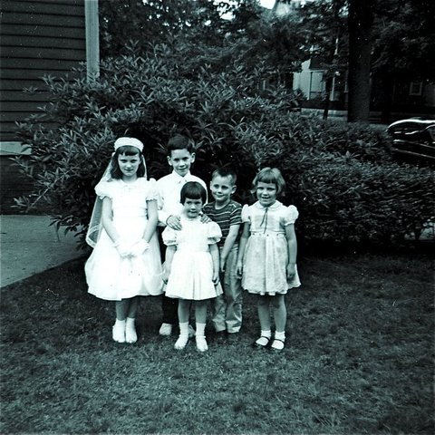 First Holy Communion, 4 June 1959.jpg