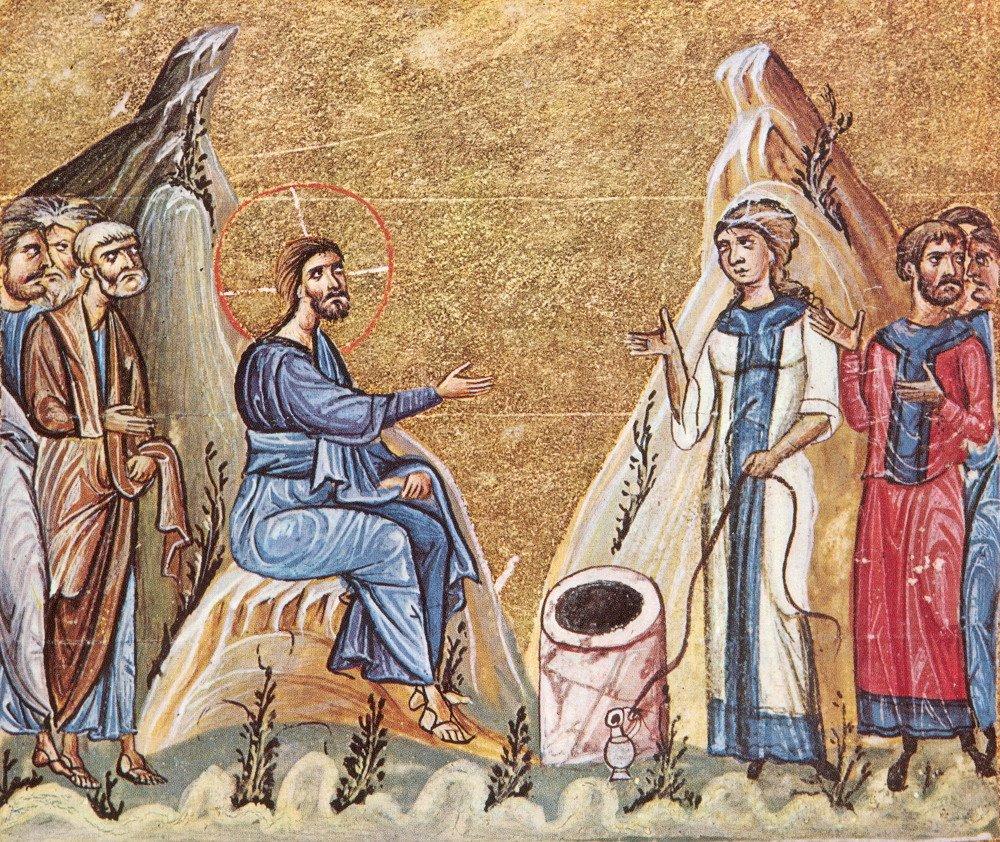 беседа с самарянкой евангелие основные